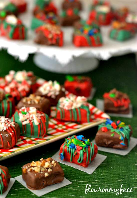 Easy Christmas Fudge Recipe  Easy Holiday Fudge Recipe Flour My Face