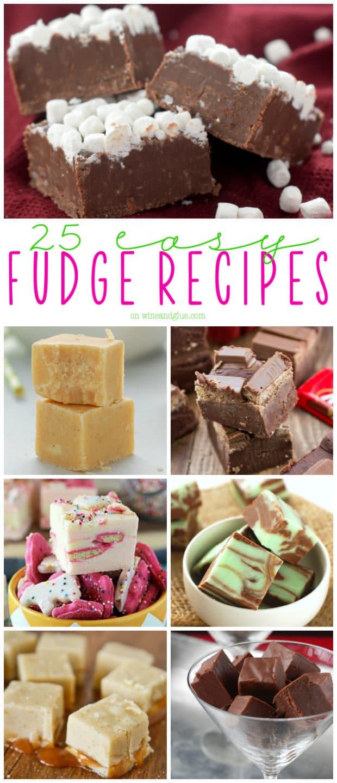 Easy Christmas Fudge Recipe  25 Easy Fudge Recipes Wine & Glue