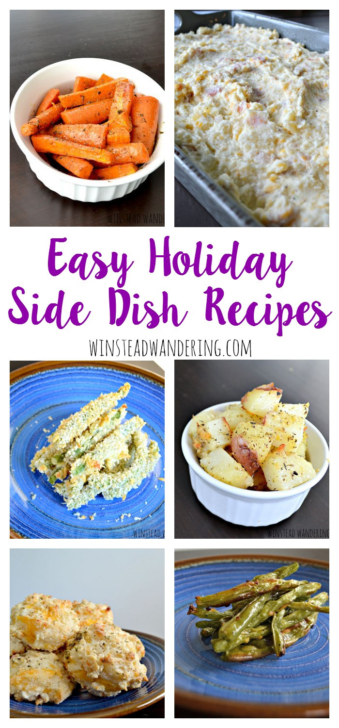 Easy Christmas Side Dishes  Easy Holiday Side Dish Recipes
