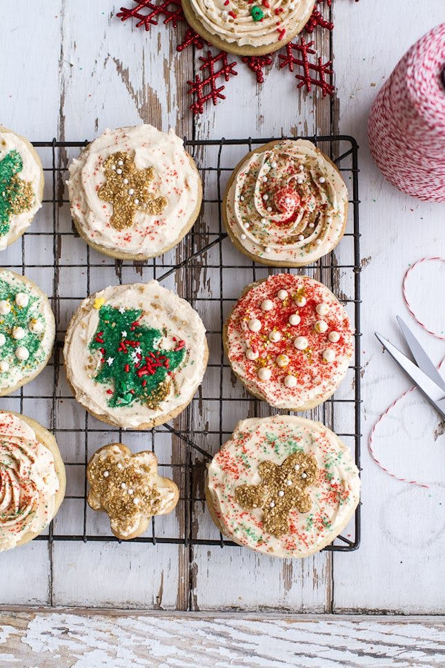 Easy Christmas Sugar Cookies  65 Insanely Easy Christmas Cookie Recipes to Keep You Busy