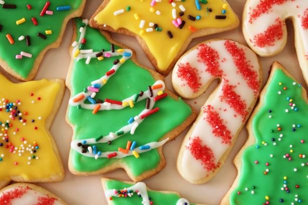 Easy Christmas Sugar Cookies  Easy Sugar Cookie Recipe Food