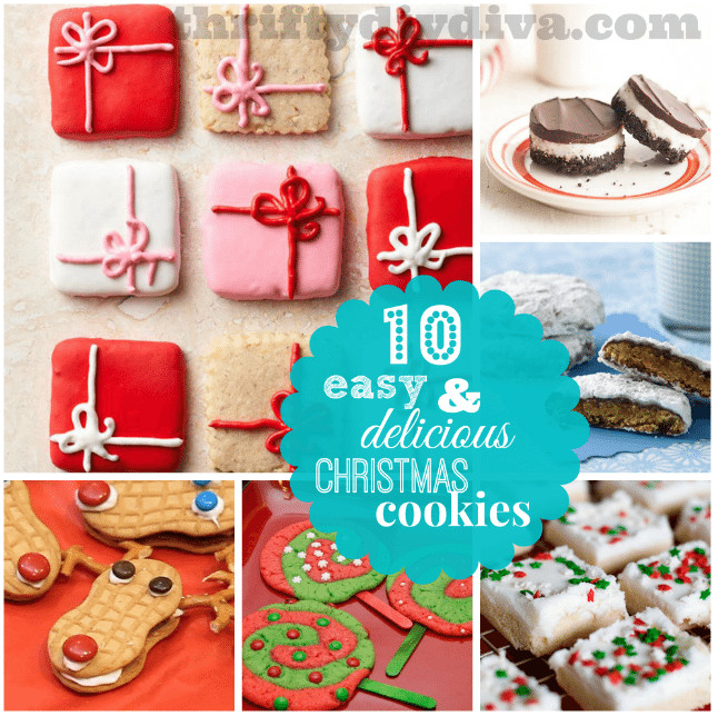 Easy Delicious Christmas Cookies  10 Easy and Delicious Christmas Cookies Recipes and Ideas