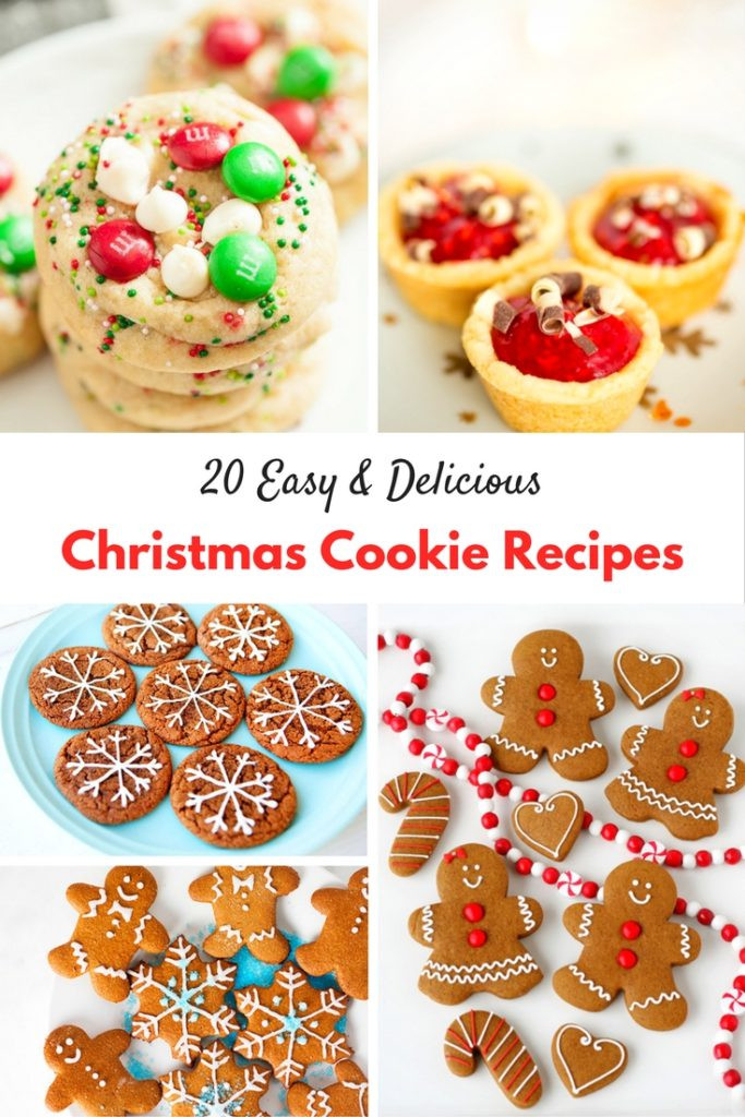 Easy Delicious Christmas Cookies  20 Easy and Delicious Christmas Cookie Recipes