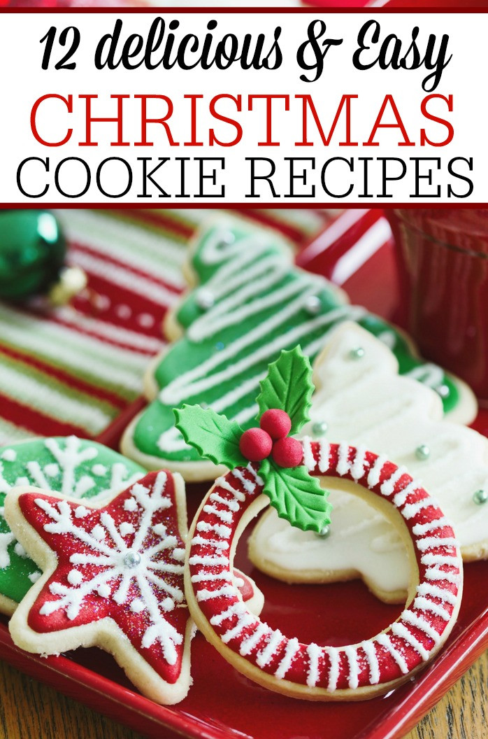 Easy Delicious Christmas Cookies  12 Christmas Cookie Recipes Frugally Blonde