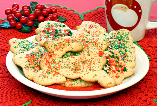 Easy Delicious Christmas Cookies  EASY TO MAKE DELICIOUS SUGAR COOKIES MADE SIMPLE FOR