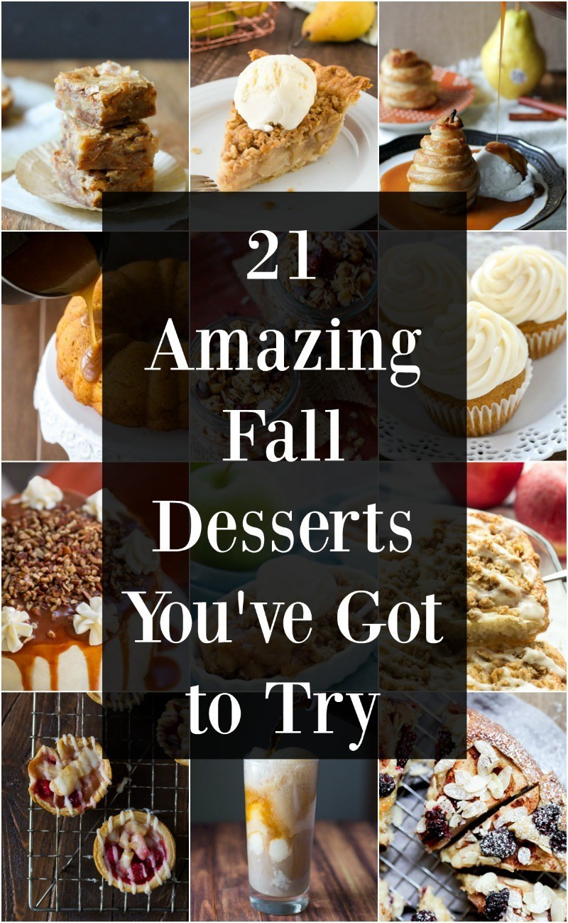 Easy Fall Desserts  21 Easy Fall Desserts You ve Got to Try Maebells