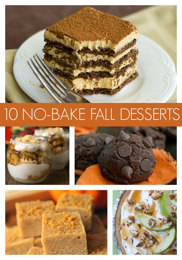 Easy Fall Desserts  10 Super Easy No Bake Fall Desserts Pretty My Party