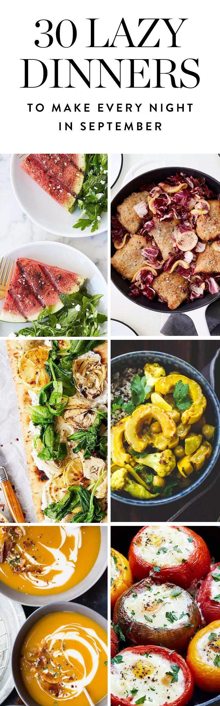 Easy Fall Dinners  Best 25 Fall dinner recipes ideas on Pinterest