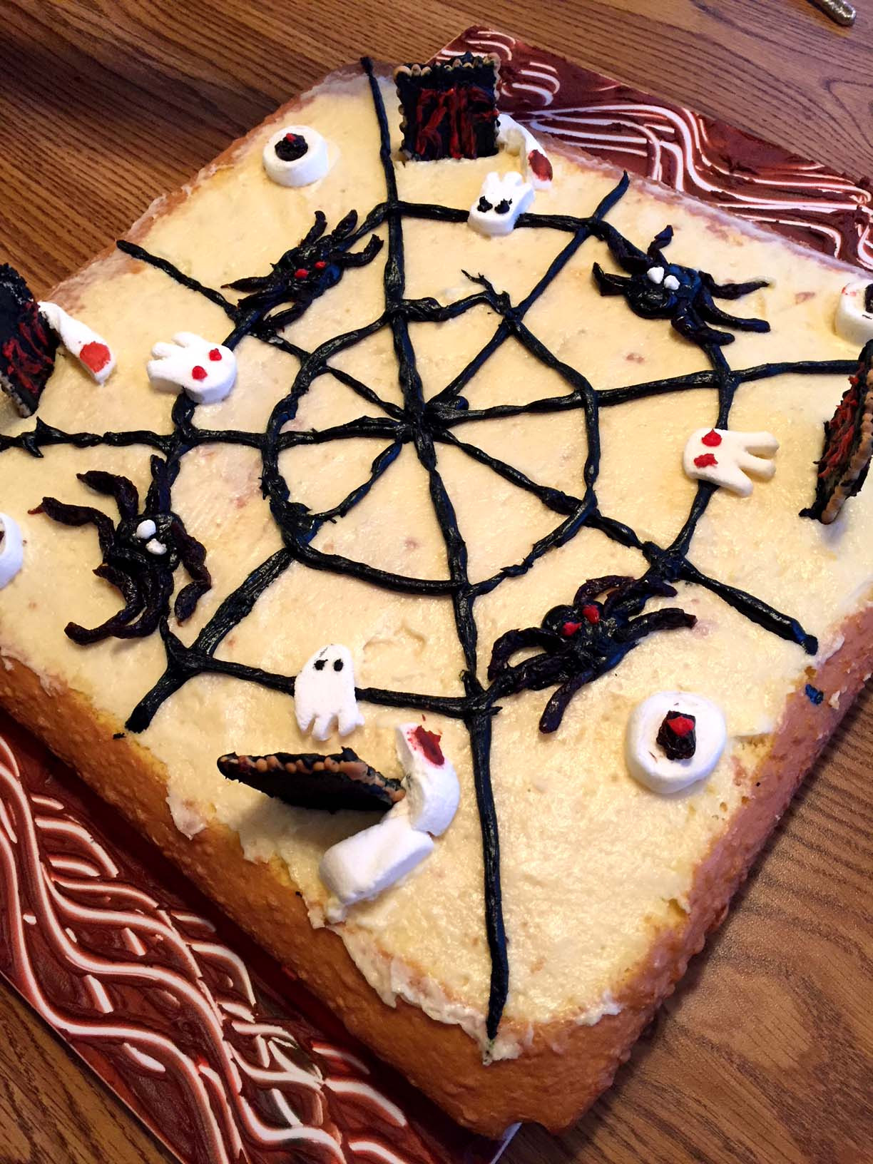 Easy Halloween Cakes  Easy Halloween Cake Decorating Ideas For Spooky Cake