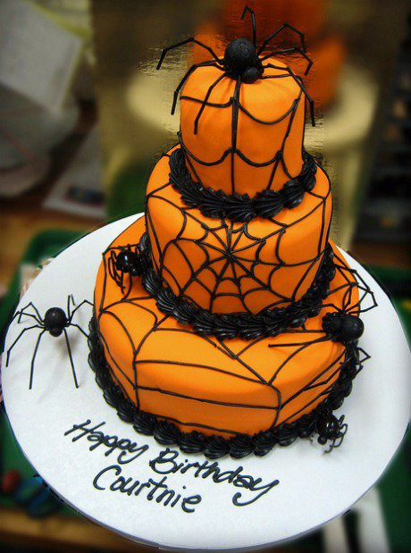 Easy Halloween Cakes  DIY Halloween Cake Ideas Party XYZ