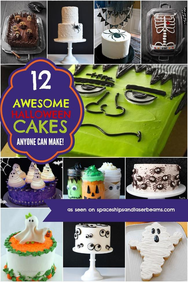 Easy Halloween Cakes  12 Awesome Halloween Cakes Anyone Can Make Spaceships