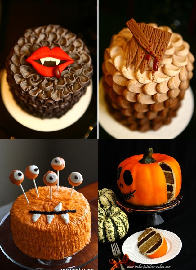 Easy Halloween Cakes  Pop Culture And Fashion Magic Easy Halloween food ideas