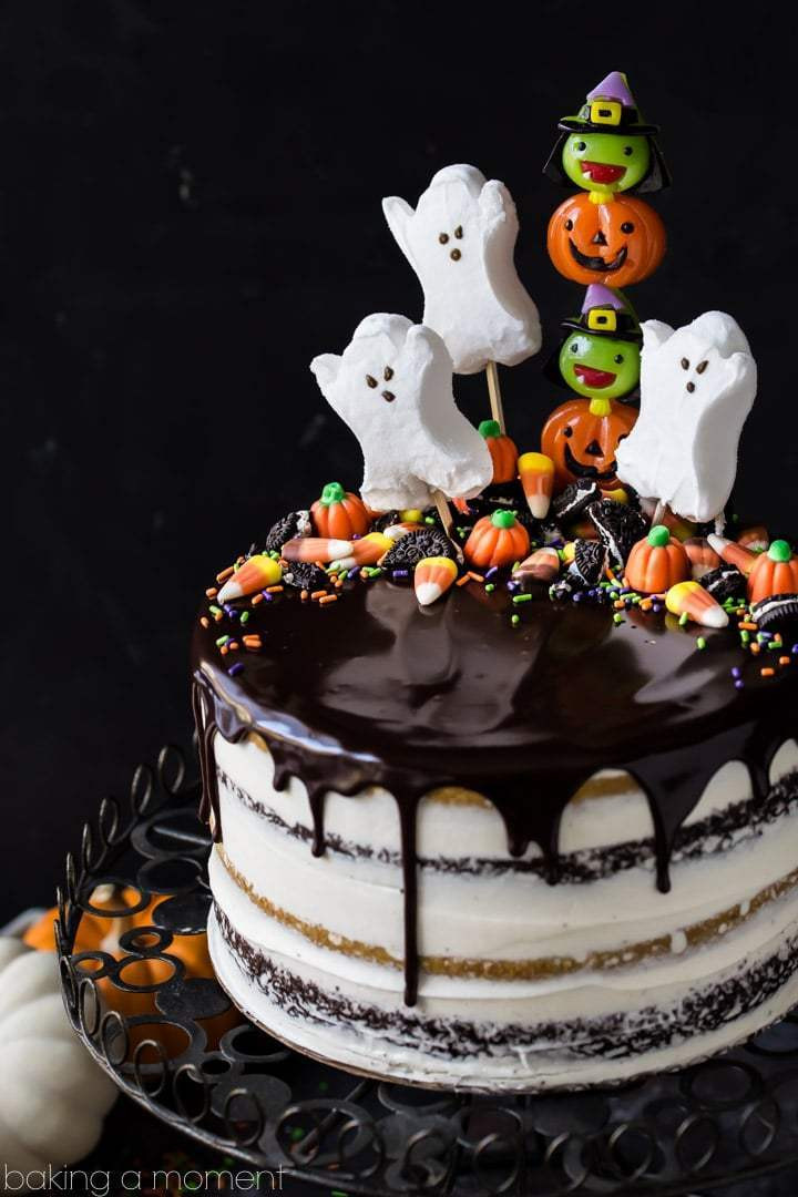 Easy Halloween Cakes  Pumpkin Chocolate Halloween Cake Baking A Moment