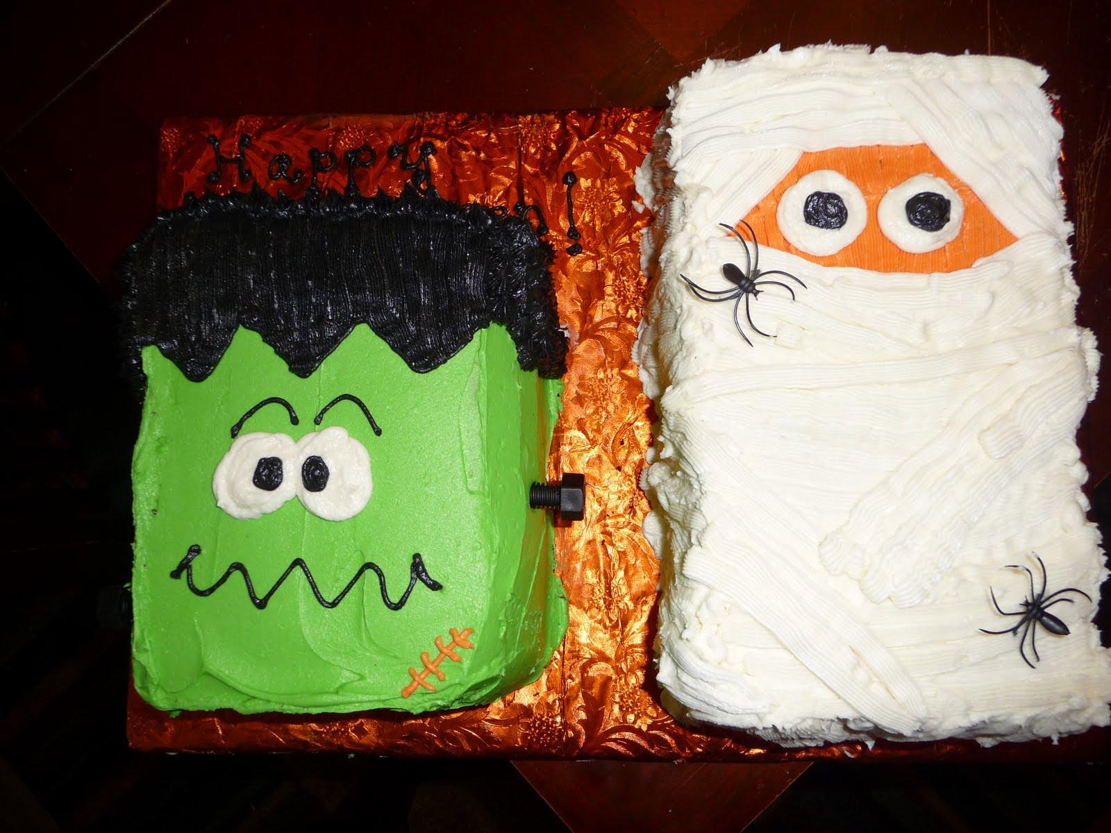 Easy Halloween Cakes  Dreaming in Buttercream Happy Halloween
