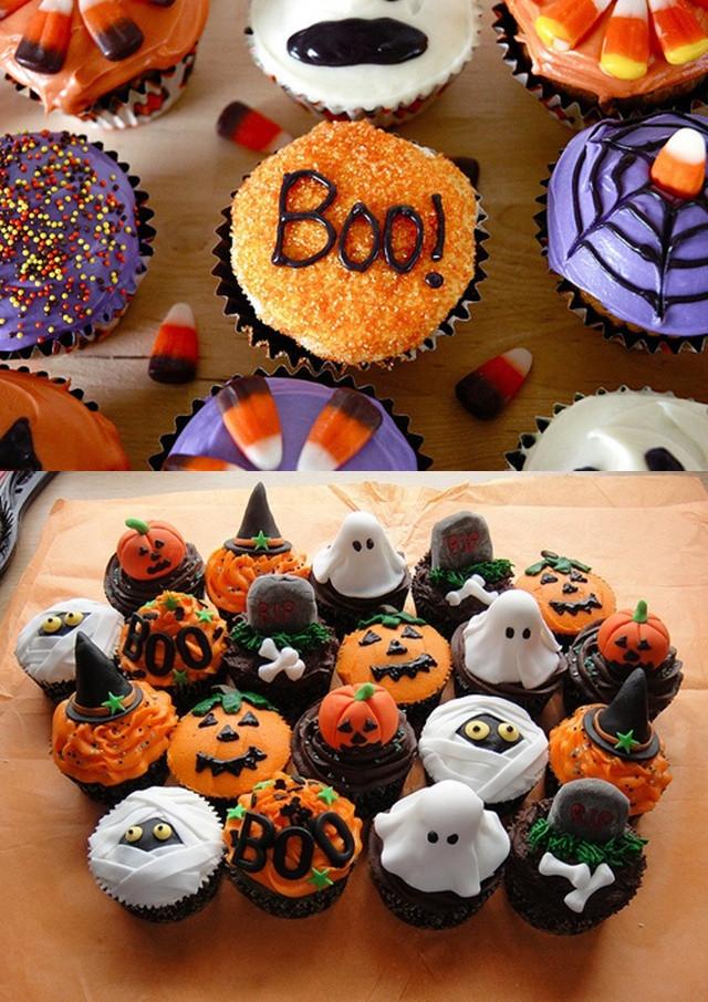 Easy Halloween Cupcakes  Pop Culture And Fashion Magic Easy Halloween food ideas