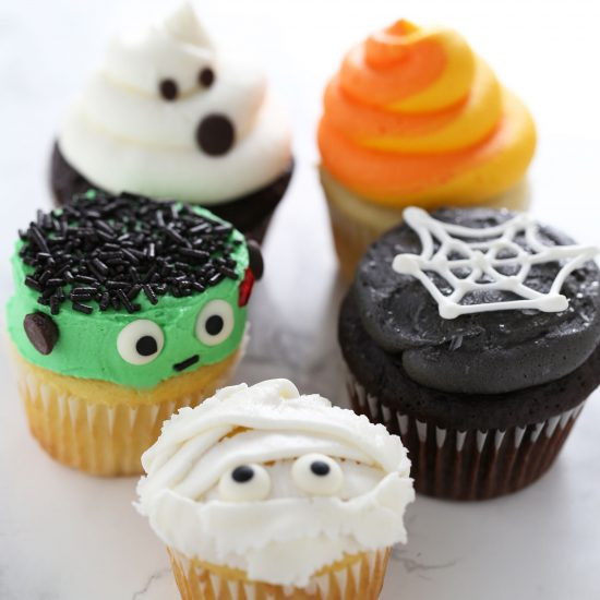 Easy Halloween Cupcakes  How to Make Halloween Cupcakes Handle the Heat