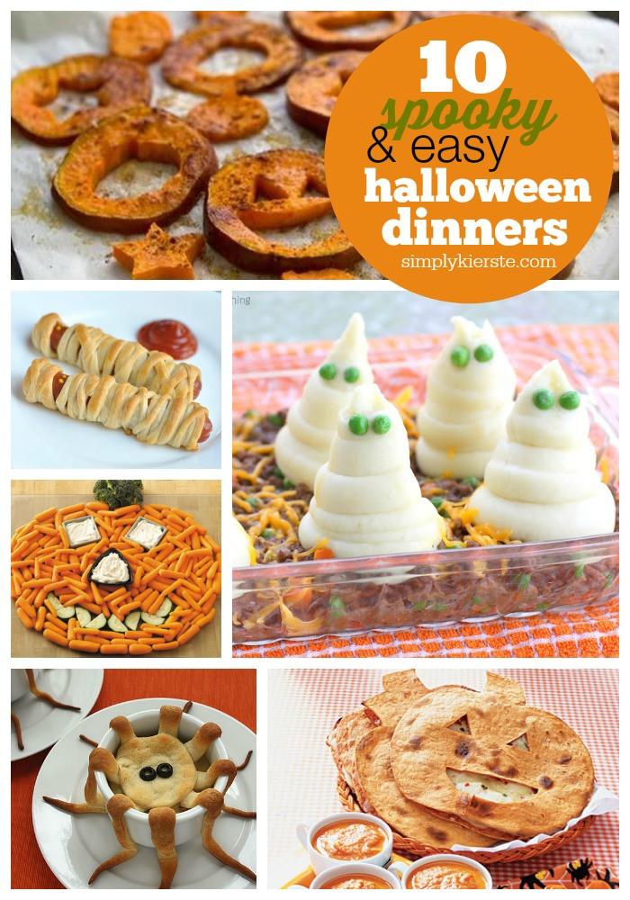 Easy Halloween Dinners  10 Spooky & Easy Halloween Dinner Ideas