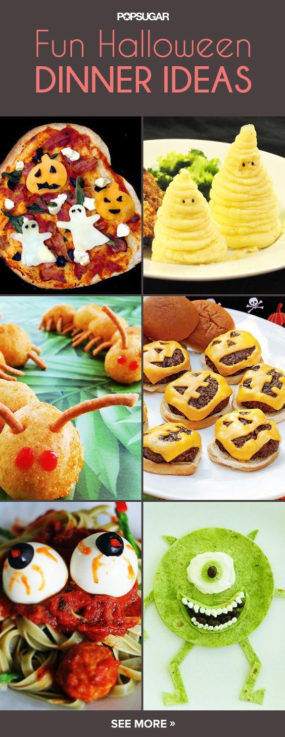 Easy Halloween Dinners  Children s Classic