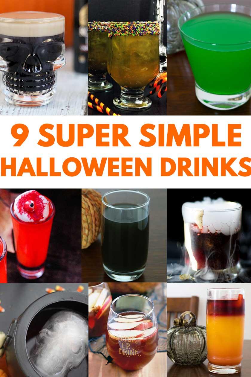 Easy Halloween Drinks Alcohol  9 Simple Halloween Cocktails & Drinks