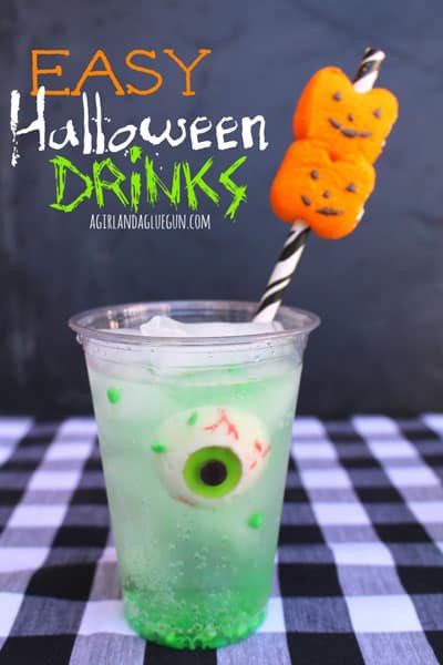 Easy Halloween Drinks  Easy Halloween Drinks 30 Days of Halloween Day 12