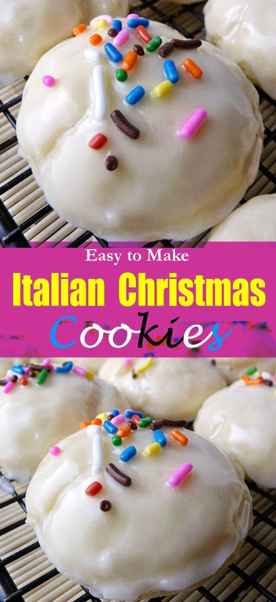 Easy Italian Christmas Cookies  Top 25 best Italian christmas cookies ideas on Pinterest