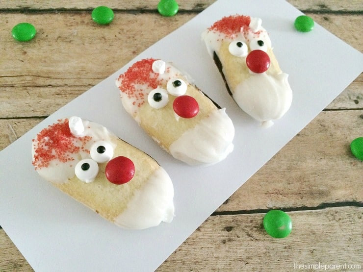 Easy No Bake Christmas Cookies  With No Bake Santa Cookies Even the Youngest Can Make