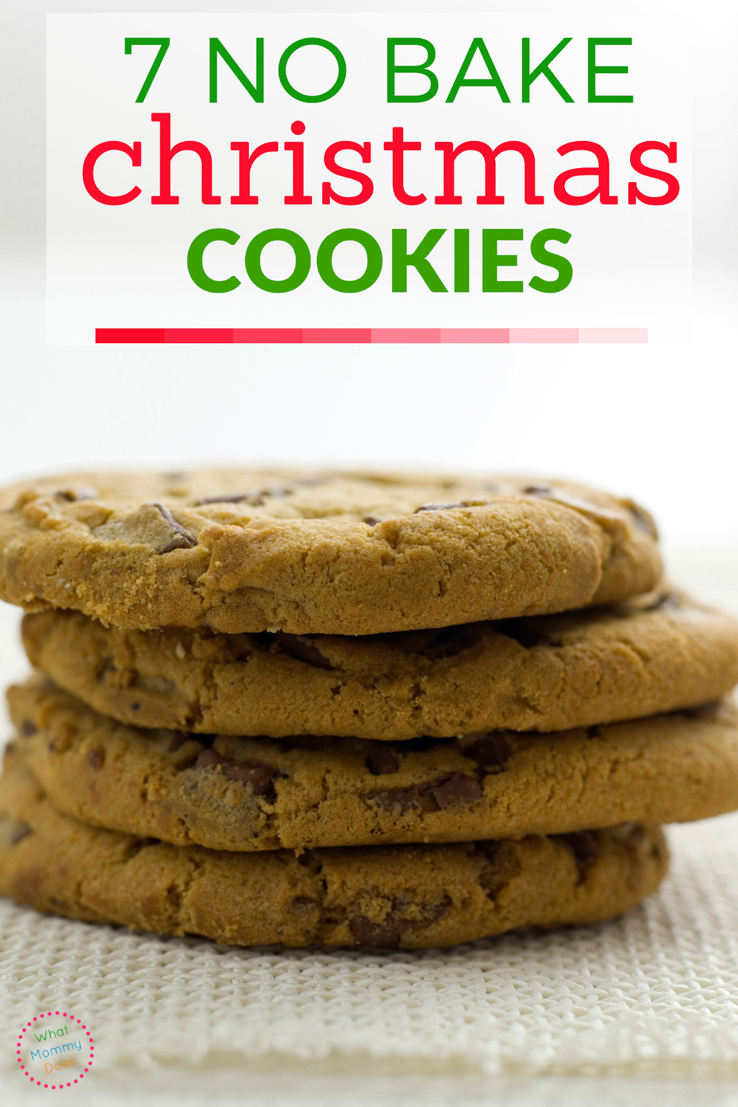 Easy No Bake Christmas Cookies  7 No Bake Christmas Cookies What Mommy Does