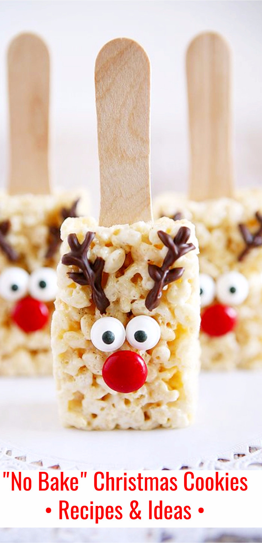 Easy No Bake Christmas Cookies  Easy No Bake Christmas Cookies Ideas & Recipes Involvery