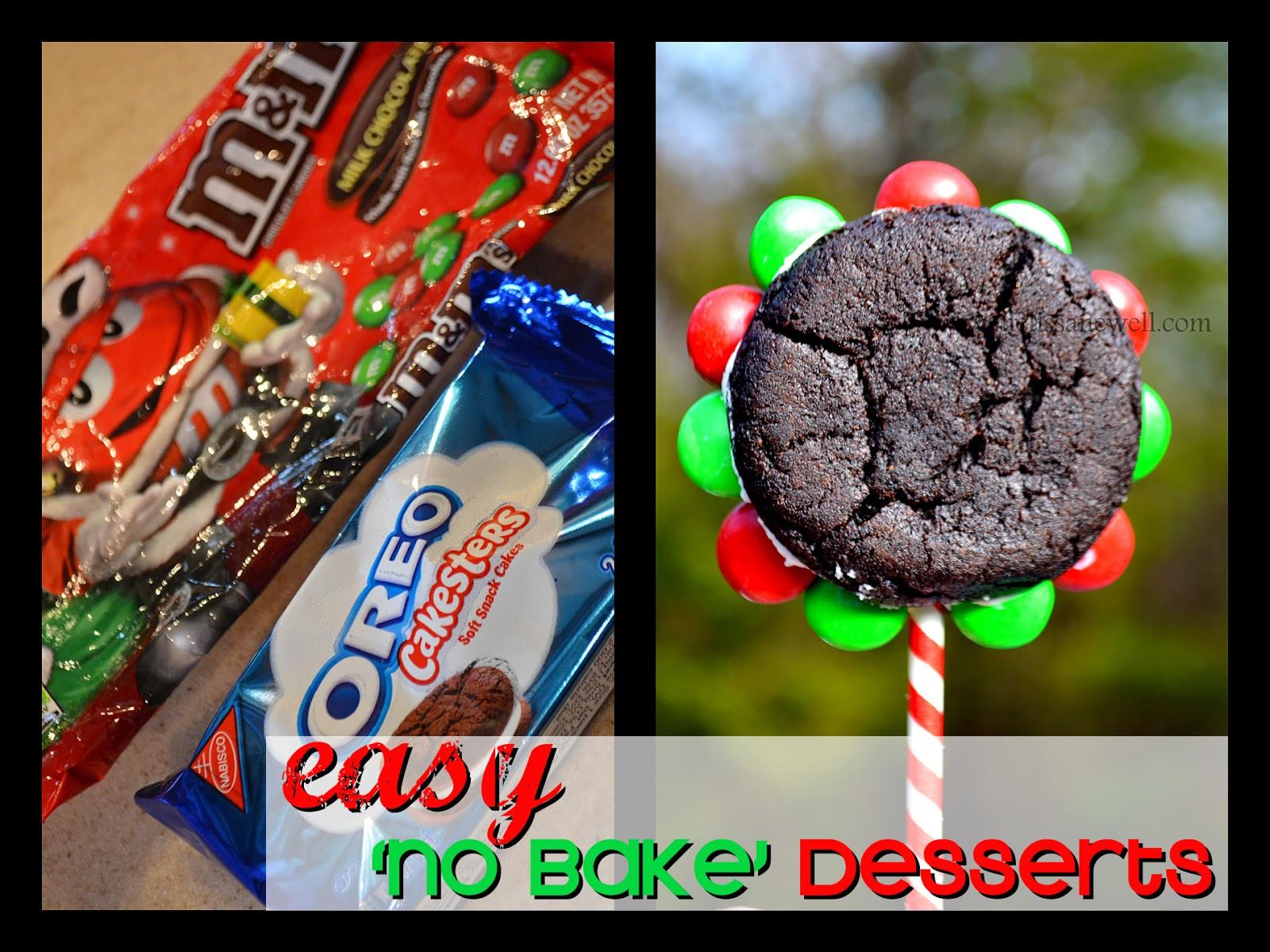 Easy No Bake Christmas Desserts  Eye Candy Creative Studio EASY No bake Holiday Desserts
