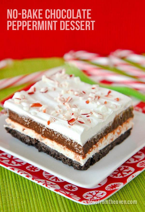 Easy No Bake Christmas Desserts  40 Festive No Bake Christmas Desserts For a Sweeter