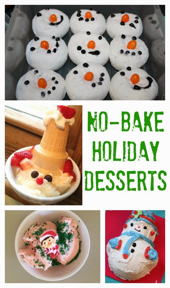 Easy No Bake Christmas Desserts  The Chirping Moms 5 No Bake Holiday Desserts