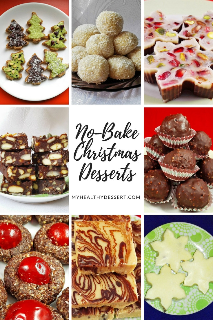 Easy No Bake Christmas Desserts  Delicious No Bake Christmas Desserts My Healthy Dessert