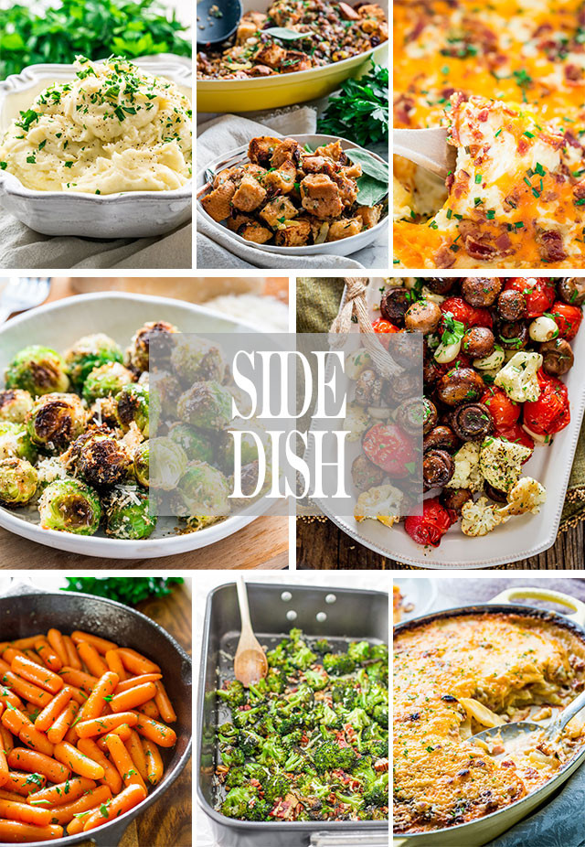 Easy Side Dishes For Christmas  Easy Whole Day Christmas Menu Jo Cooks