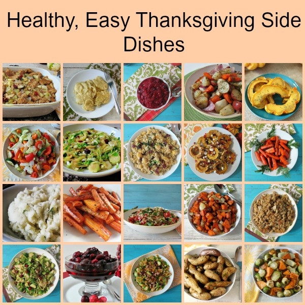 Easy Side Dishes For Thanksgiving Meal  Thanksgiving Side Dishes