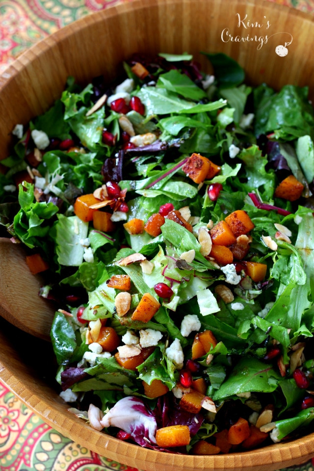 Easy Thanksgiving Salads  Thanksgiving Salad with Roasted Butternut Squash and