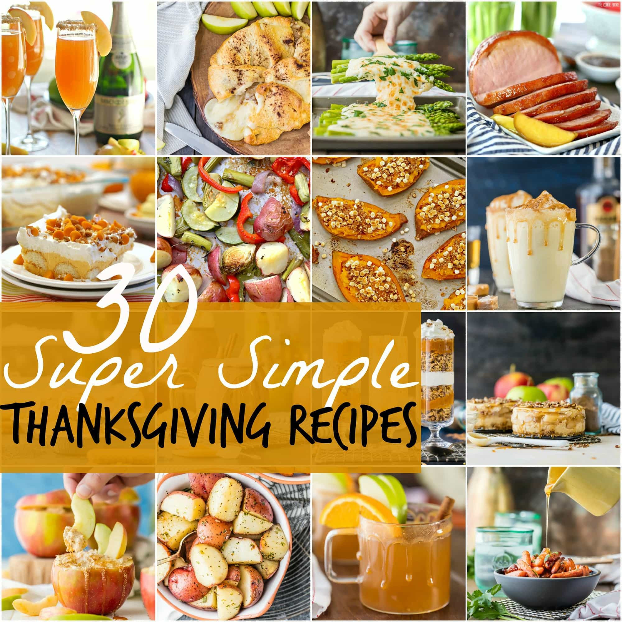 Easy Thanksgiving Turkey Recipes  30 SUPER SIMPLE Thanksgiving Recipes
