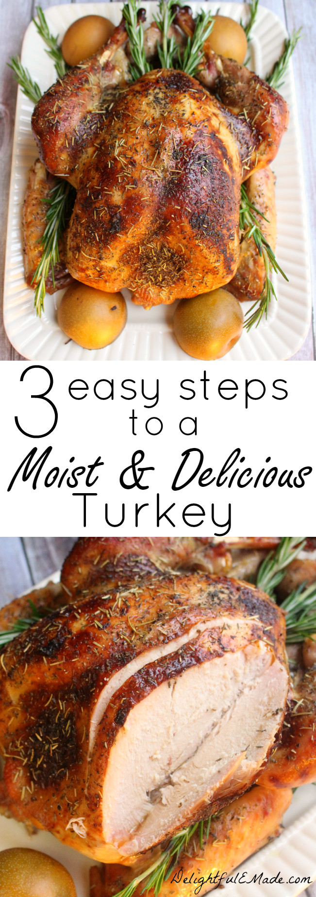 Easy Thanksgiving Turkey Recipes  Tired of dry bland turkey I ll show you three easy steps