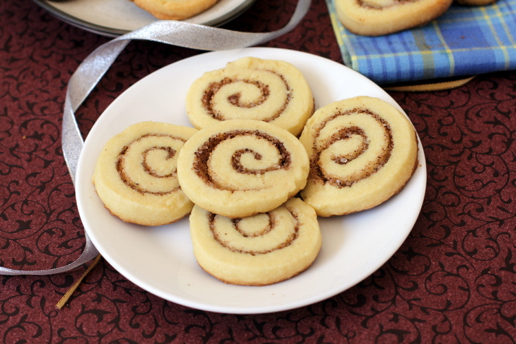 Eggless Christmas Cookies  Cinnamon Roll Sugar Cookies Eggless Cookie Recipe