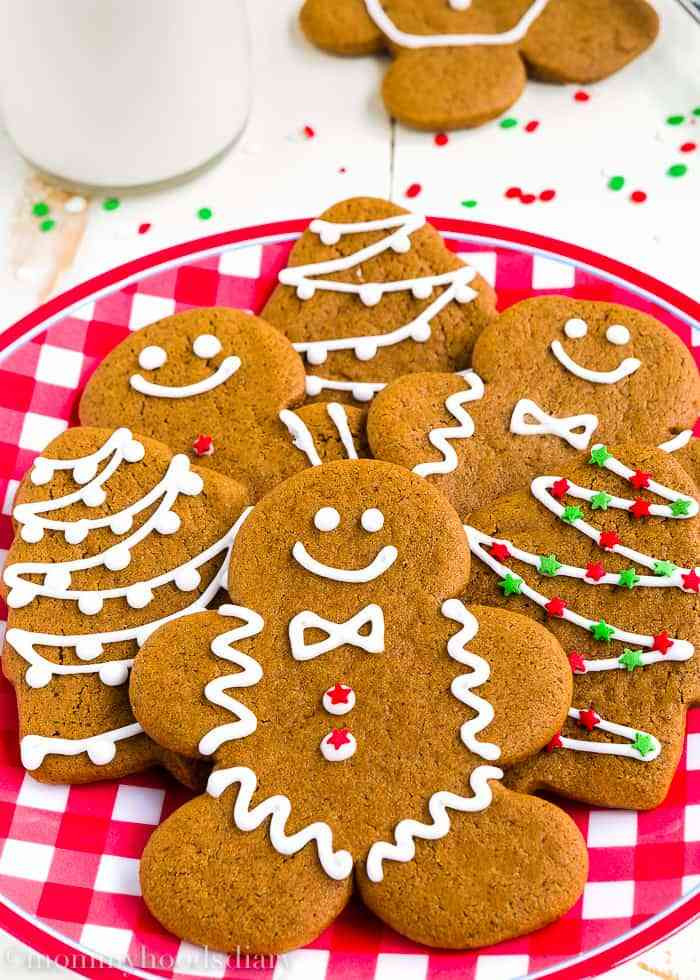 Eggless Christmas Cookies  Eggless Gingerbread Cookies Mommyhood s Diary