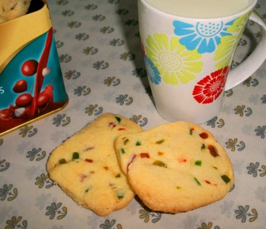 Eggless Christmas Cookies  YUMMY TUMMY Eggless Tutti Fruity Cookies – Valentine
