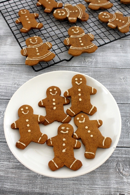Eggless Christmas Cookies  Eggless gingerbread men cookies recipe Gingerbread