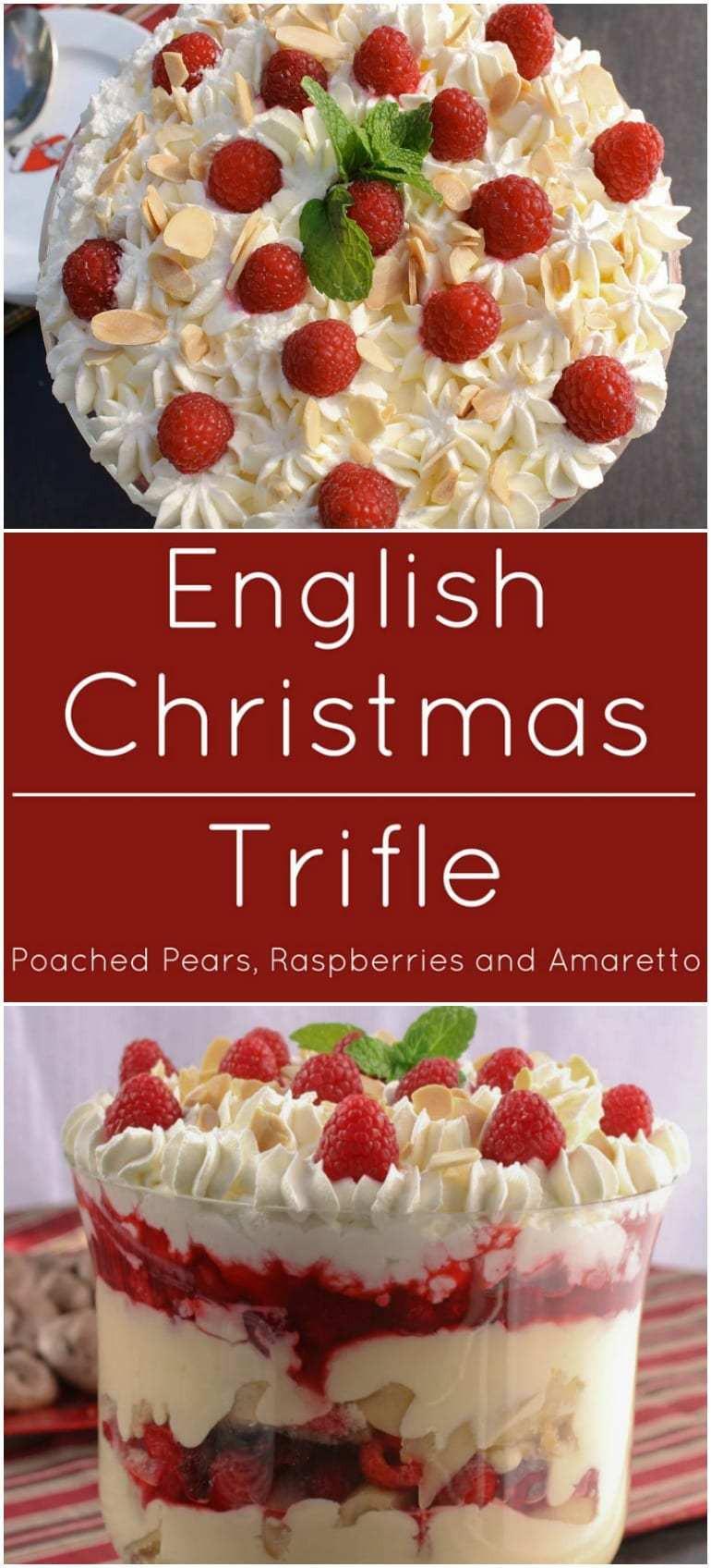 English Christmas Desserts  English Christmas Trifle What A Girl Eats