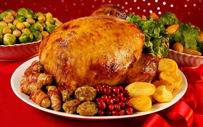 English Christmas Dinner  Why Christmas dinner will be 5pc cheaper this year Telegraph