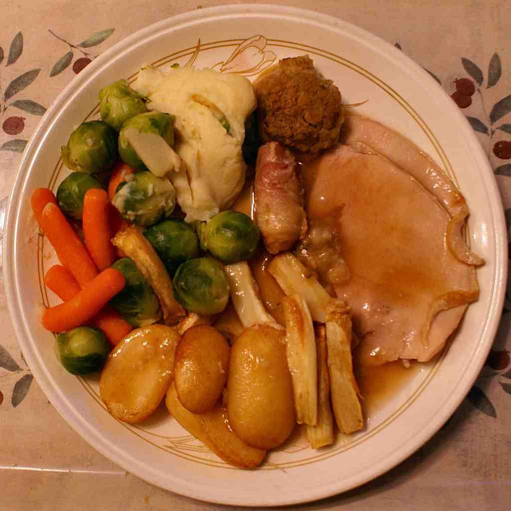 English Christmas Dinner  My British Log An English Christmas Dinner