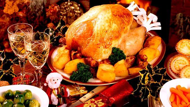 English Christmas Dinner  BBC Four Timeshift Series 7 Stuffed The Great British