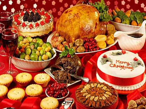 English Christmas Dinner  British Christmas Dinner My Roots are Showing