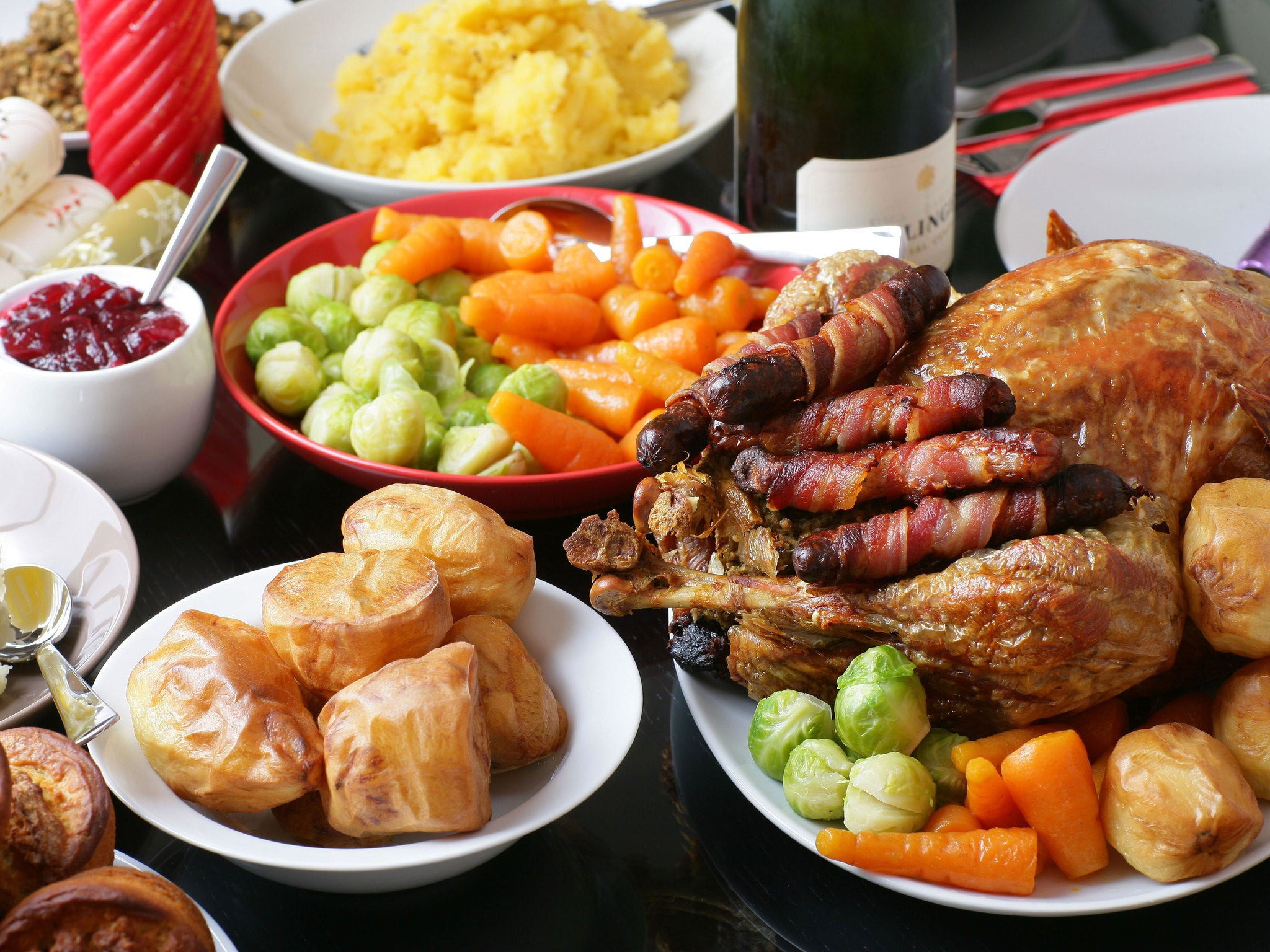 English Christmas Dinner  UK s favourite food to eat on Christmas Day revealed