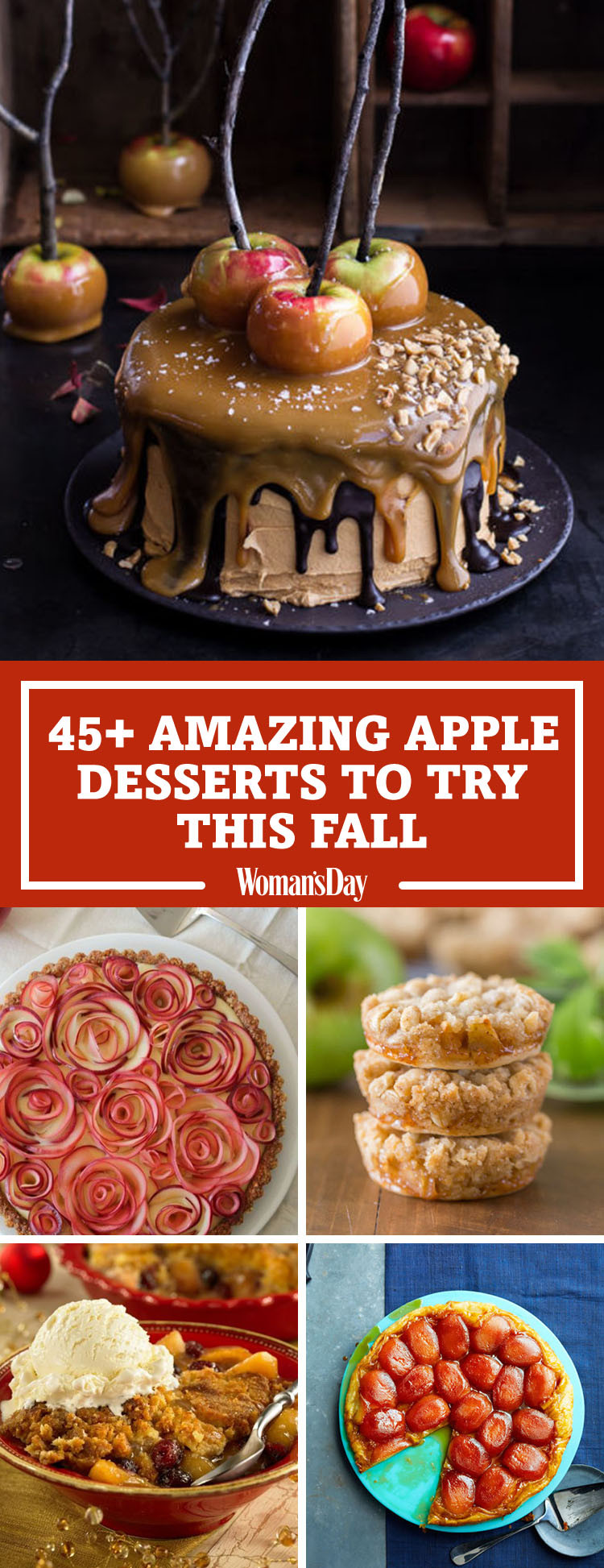Fall Apple Desserts  50 Easy Apple Desserts for Fall Best Recipes for Apple