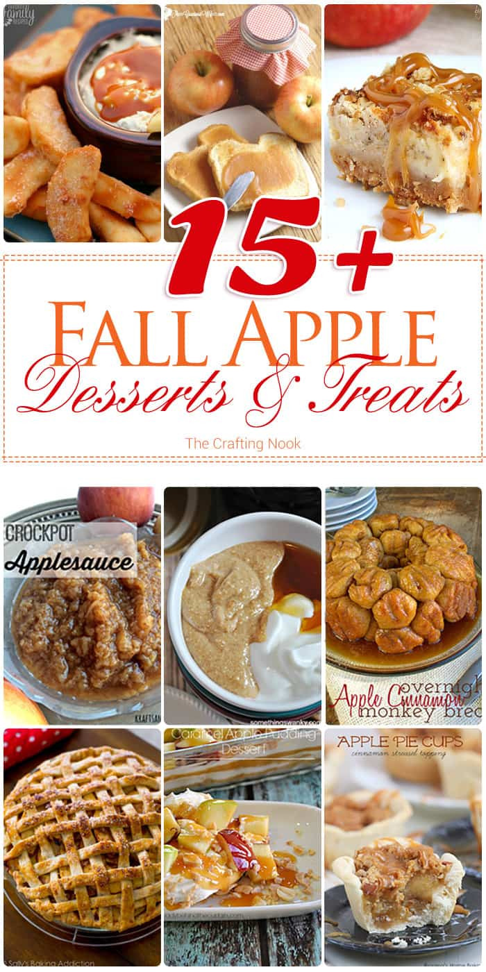 Fall Apple Desserts  15 Fall Apple Desserts and Treats