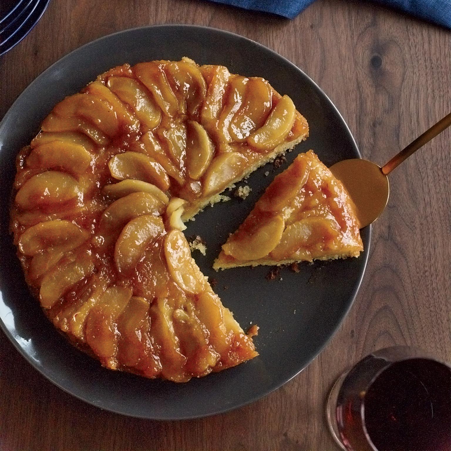 Fall Apple Desserts  Maple Apple Upside Down Cake Recipe Joanne Chang
